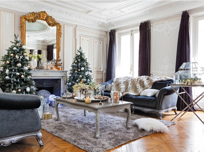 organisation décoration appartement noel