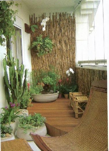 décoration balcon zen