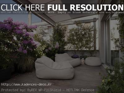 idée décoration balcon zen