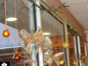 univers décoration bureau pour noel