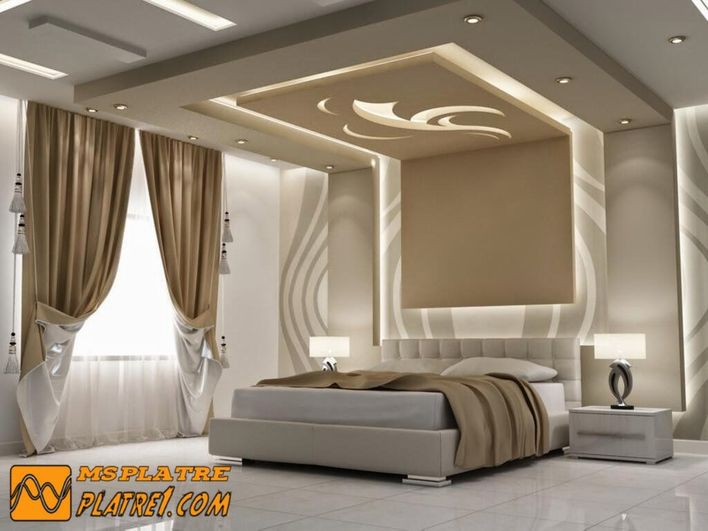 décoration chambre platre