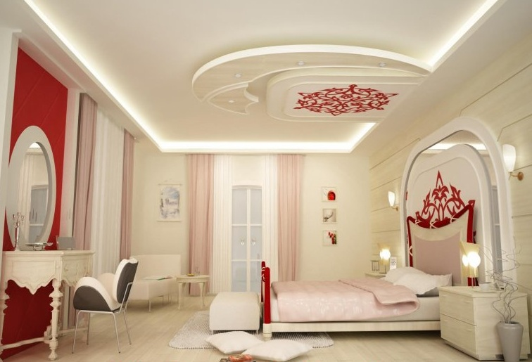 exemple décoration chambre platre