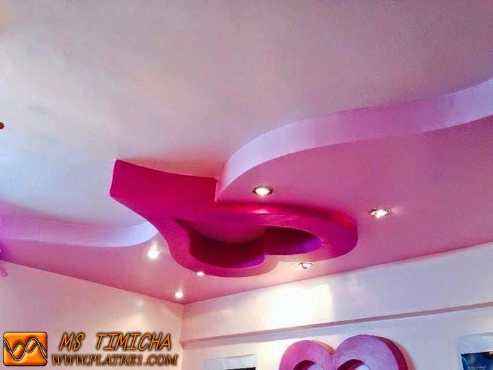 modèle décoration chambre platre