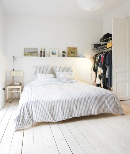 idée décoration chambre toute blanche