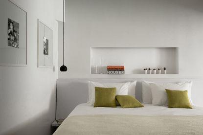photo décoration chambre toute blanche