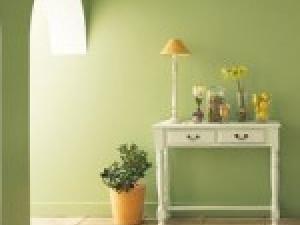 Décoration chambre vert amande