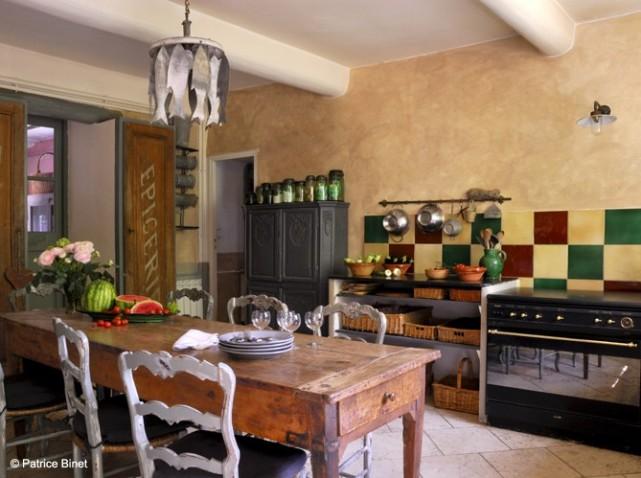 décoration cuisine fermette