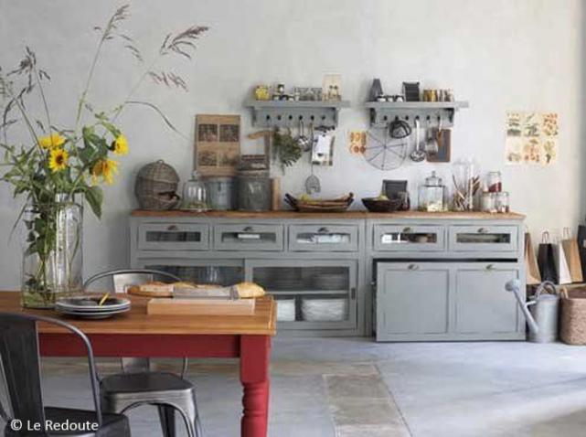 idée décoration cuisine fermette