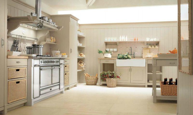 organisation décoration cuisine fermette