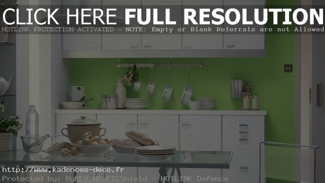 aménagement décoration cuisine peinture couleur