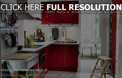 photo décoration cuisine peinture couleur