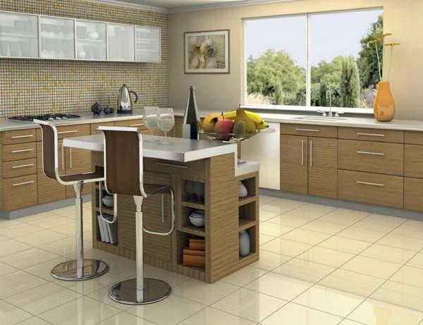 aménagement décoration cuisine stainless