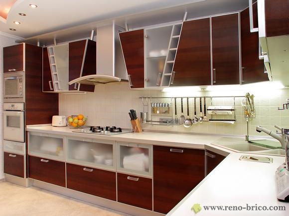 photo décoration cuisine stainless