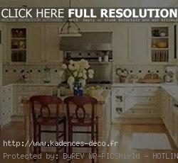 décoration cuisine traditionnelle