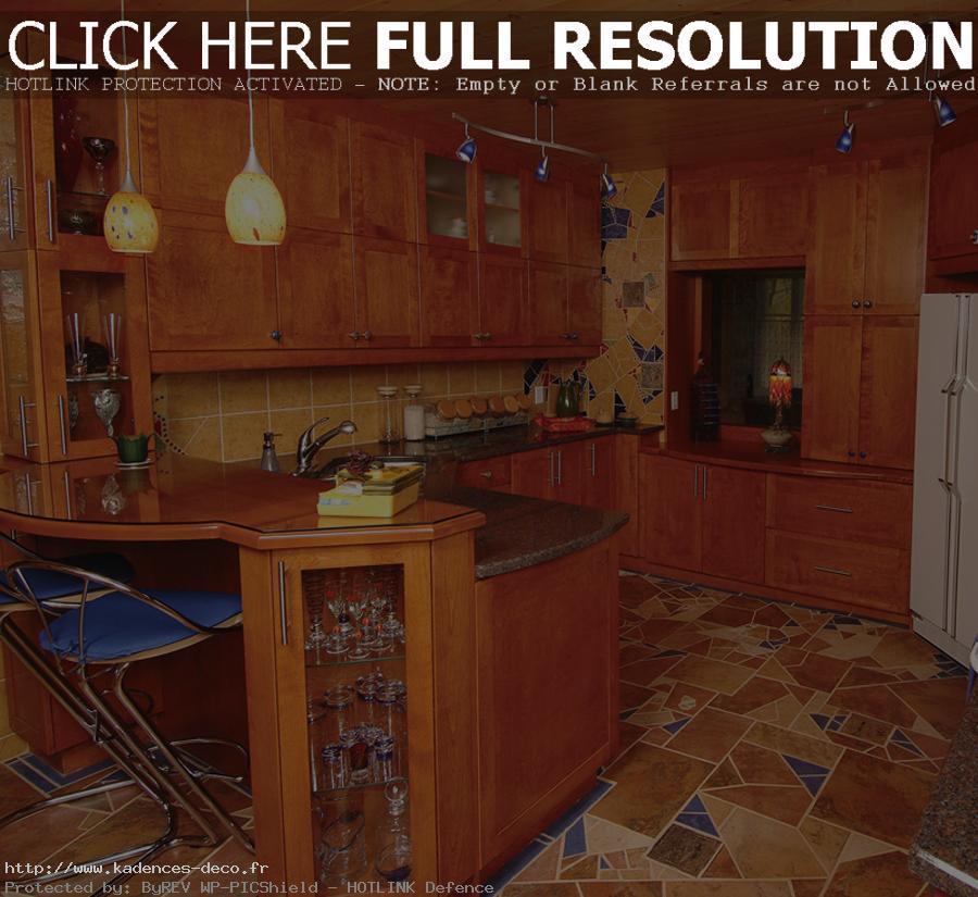 aménagement décoration cuisine traditionnelle