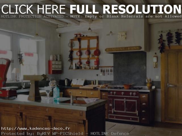 exemple décoration cuisine traditionnelle
