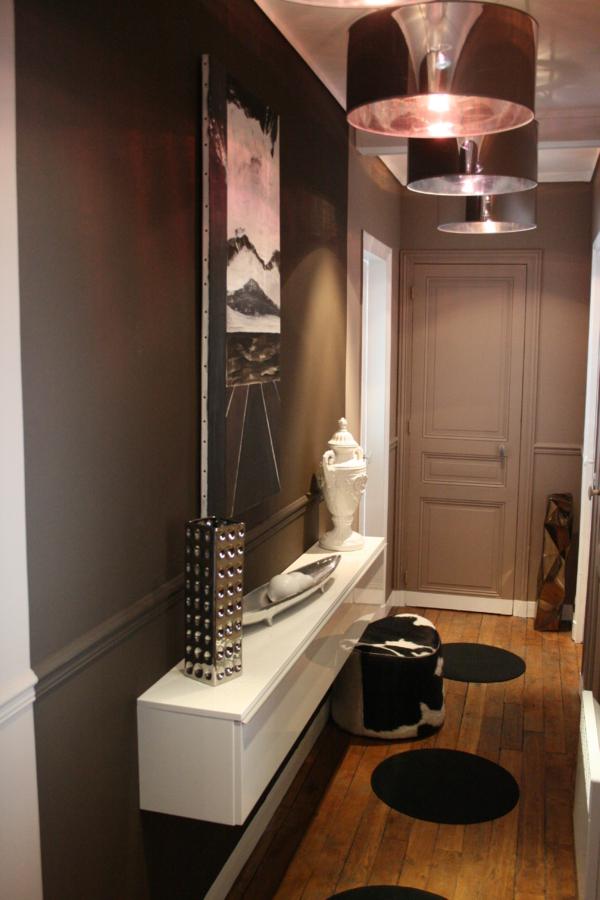 aménagement décoration entree appartement