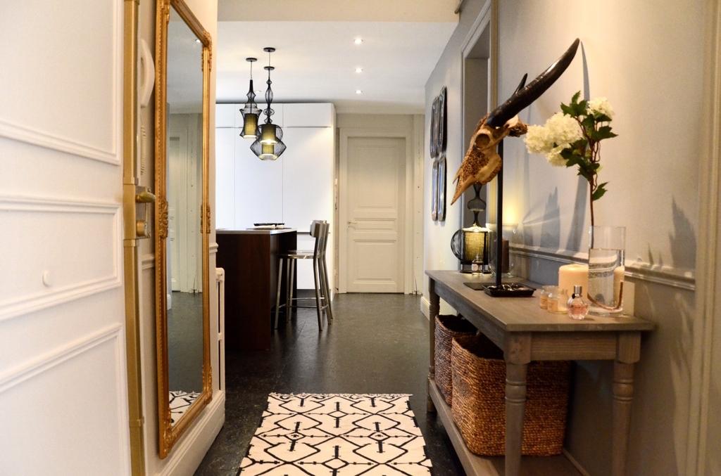 modèle décoration entree appartement