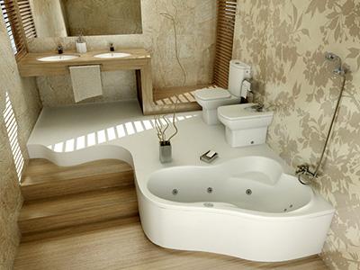 agencement décoration hammam salle de bain