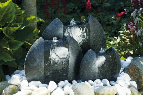 Décoration jardin avec fontaine