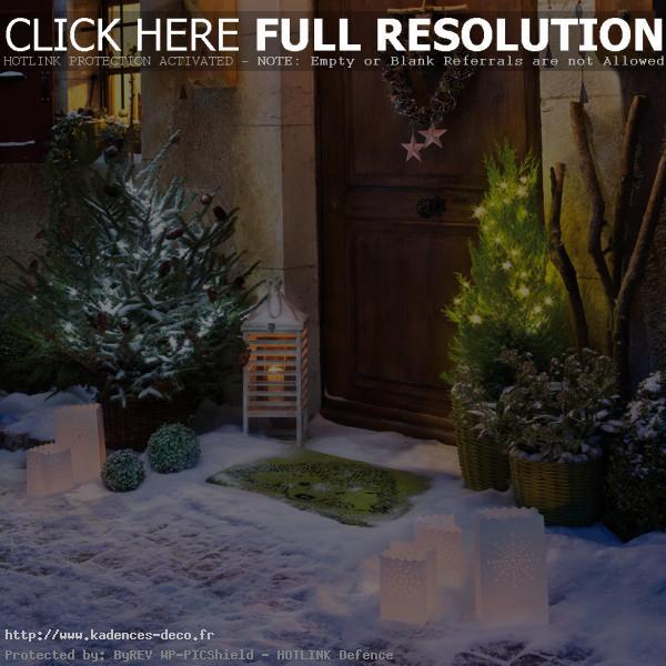 univers décoration jardin noel