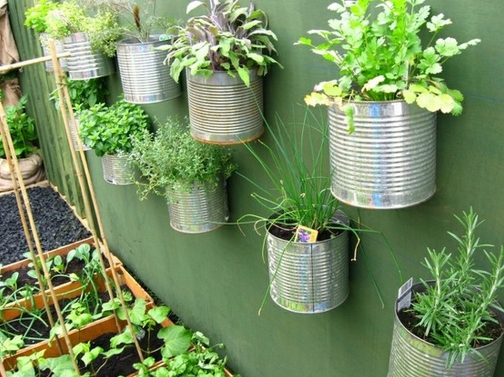 idée décoration jardin potager