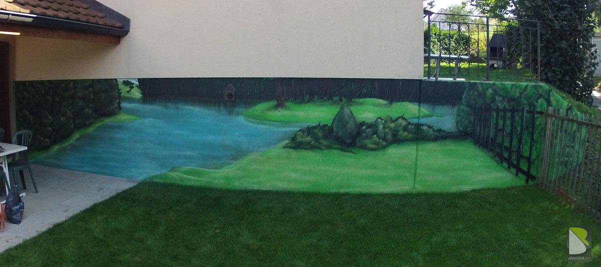 aménagement décoration jardin suisse