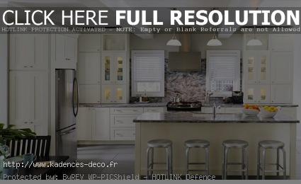 exemple décoration maison cuisine americaine