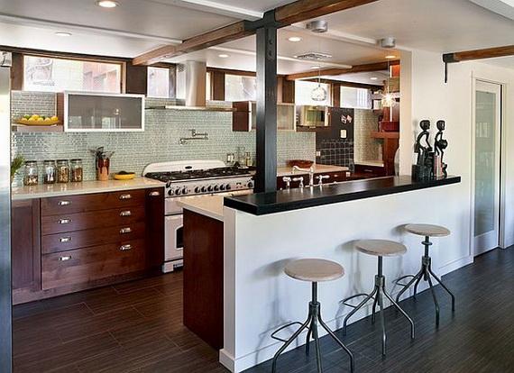 organisation décoration maison cuisine americaine