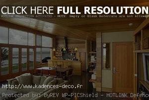 exemple décoration maison en bois