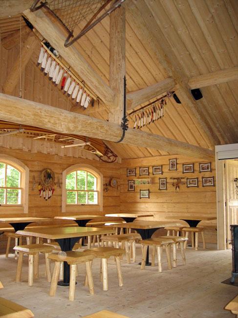 modèle décoration maison en bois