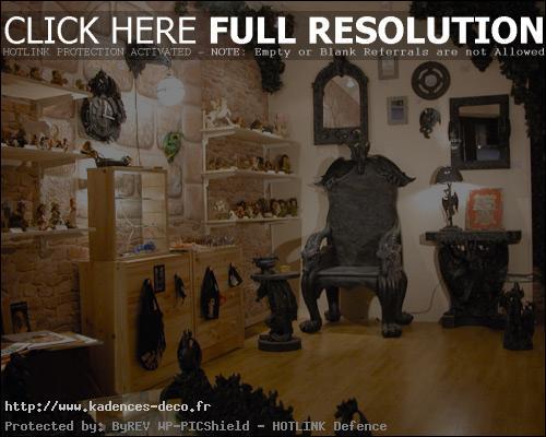 exemple décoration maison gothique