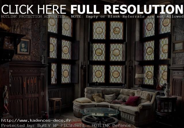 univers décoration maison gothique