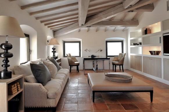 modèle décoration maison italie