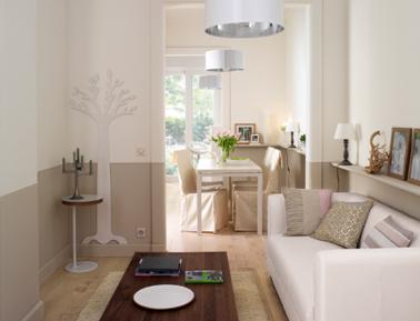 aménagement décoration maison lin