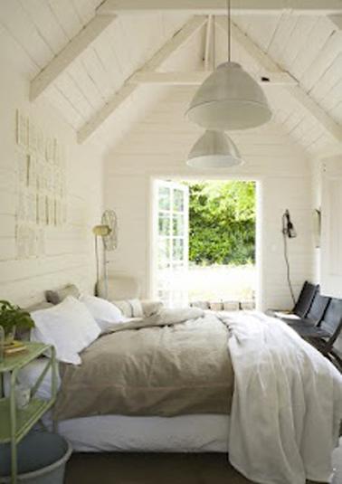 modèle décoration maison lin