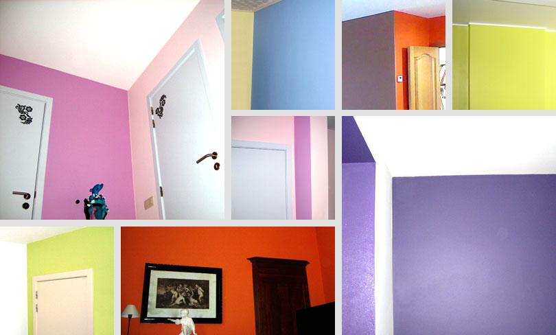 idée décoration maison peinture mur