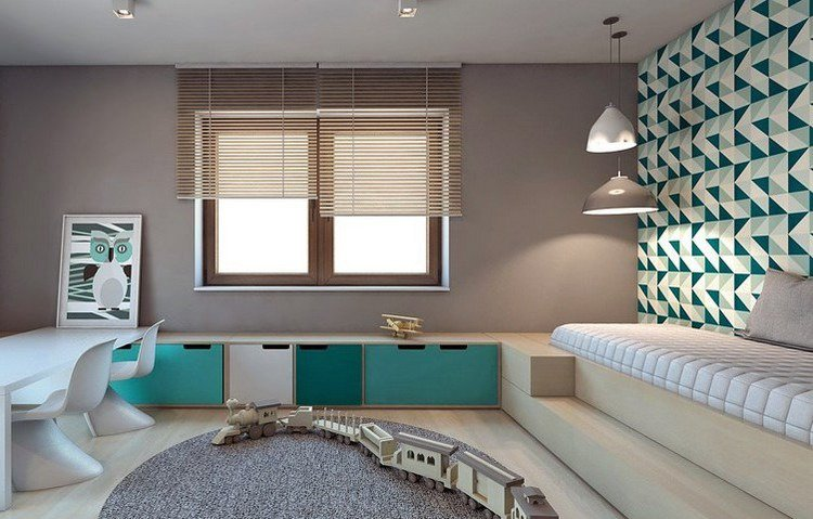 aménagement décoration maison peinture papier peint