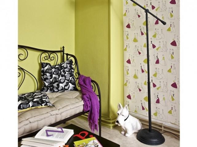 modèle décoration maison peinture papier peint