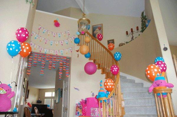 décoration maison pour anniversaire