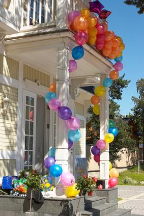 aménagement décoration maison pour anniversaire