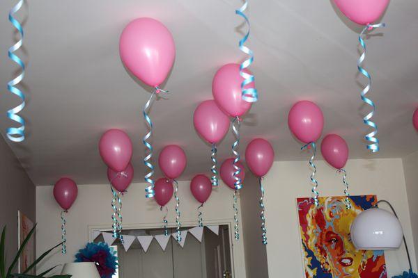 modèle décoration maison pour anniversaire