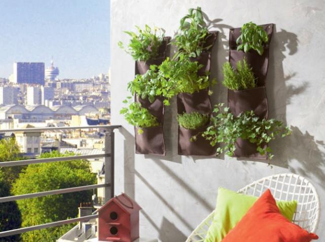 aménagement décoration mur de terrasse