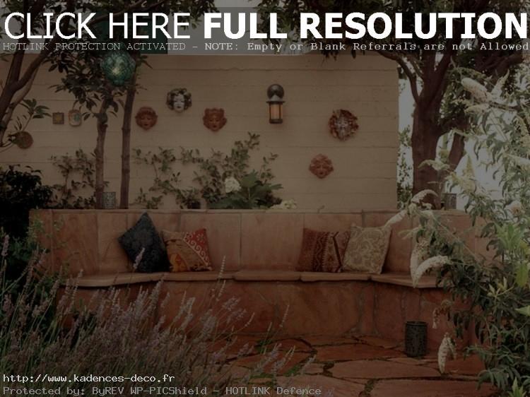 idée décoration mur de terrasse