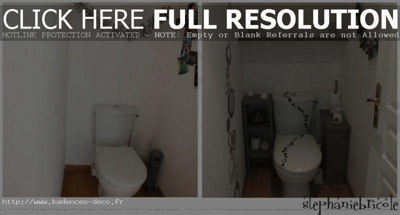 idée décoration murale toilettes