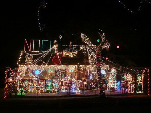 idée décoration noel maison lumineuse