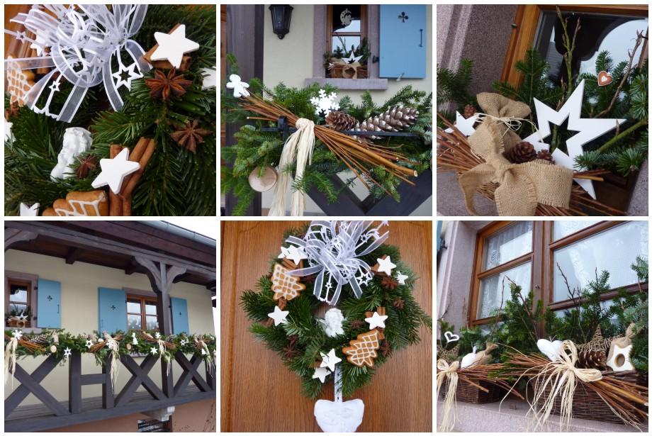 idée décoration noel nature maison