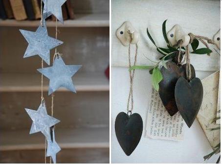 exemple décoration noel nature maison