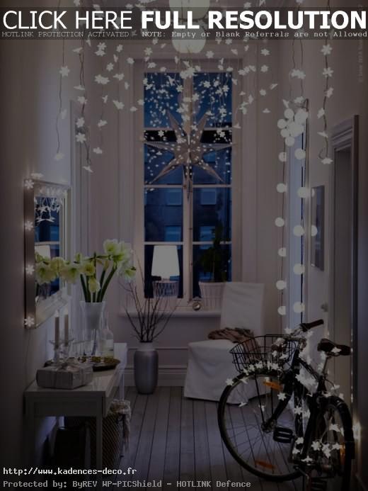 agencement décoration noel petit appartement