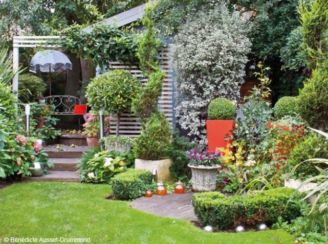 Décoration petit jardin maison